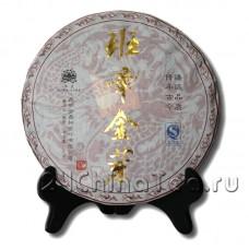 Шу Пуэр Дворцовый «Гохуэй Шэньнун Золотой Бутон», 357гр
